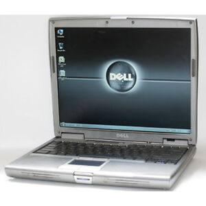 Dell Latitude D610 Laptop Pentium M WiFi 1GB RAM DVD/CDRW 40GB