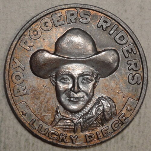 Good Luck Token, Roy Rogers Riders Lucky Piece, 1950