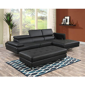 Lucas Modern Storage Sectional Sofa