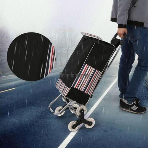 Stair Wheel Climb Cart  Folding Grocery Laundry Shopping Utility Trolly Handcart