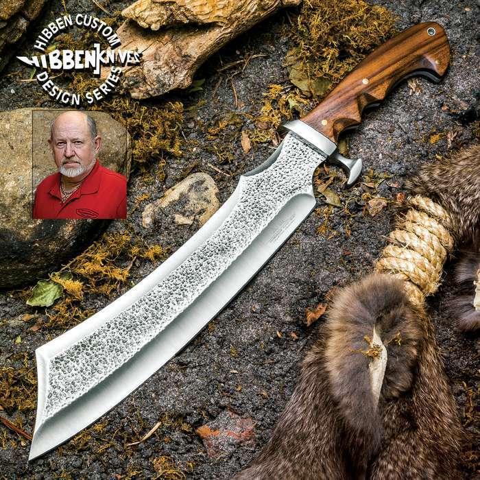 "17"" Gil Hibben Master Bushcraft Hunting Survival Fixed Blade Knife Machete Bowie"