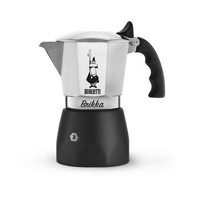 Bialetti New Brikka 2 Cups Moka Cafe Coffee Express Wow Crea