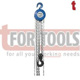 Silverline Tools Ireland Chain Block 3 ton 3000kg / 3m Lift Height 675191