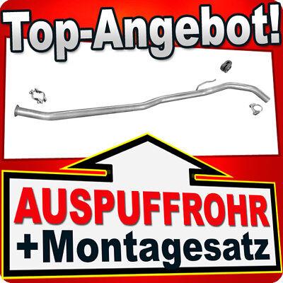 Rohr RENAULT TWINGO 1.2 55/58/60 PS 1993-2007 Auspuff Mittelrohr LMD