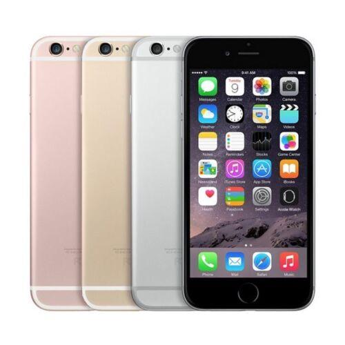 "Apple iPhone 6S 128GB ""Factory Unlocked"" 4G LTE 12MP Camera iOS Smartphone"
