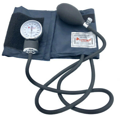Cross Canada Crossphyg 11-010 Pro Aneroid Sphygmomanometer Navy Blue Cuff