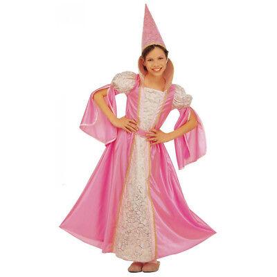 KINDER FEENKOSTÜM # Fasching Karneval Feen Prinzessin Kostüm Kleid 122/128 3709