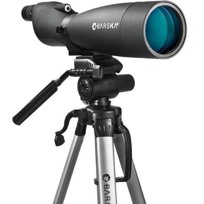 Barska Colorado Waterproof Spotting Scope w/Deluxe Tripod, 30x-90x90mm, DA12194