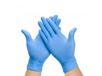 powder free nitrile more gloves and mask