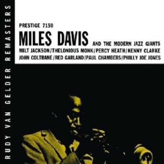 "MILES DAVIS ""THE MODERN JAZZ GIANTS(RUDY VAN..)"" CD NEU"