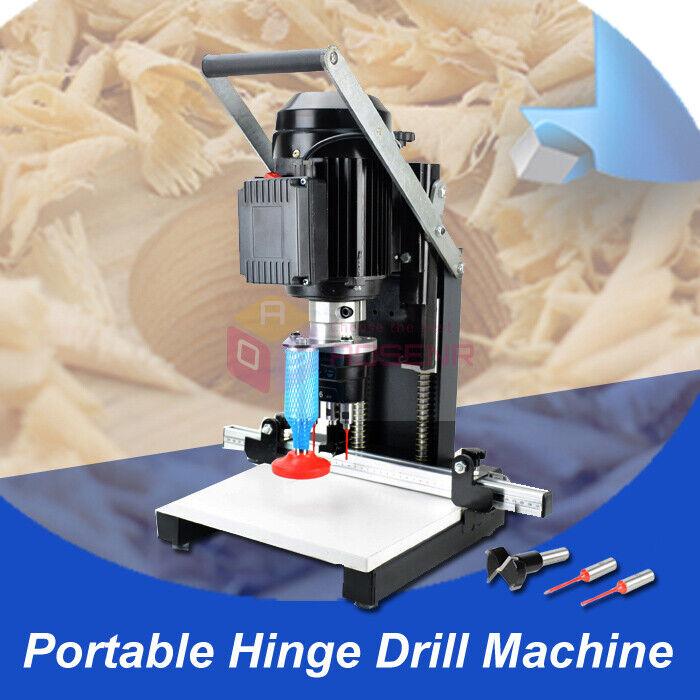 Woodworking Portable Hinge Drilling Hole Machine Wood Hinge Drill Borer