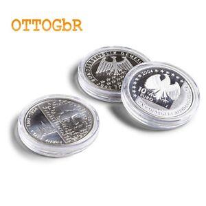 100 Münzenkapseln Glasklar 33mm für 20+10€  Kapseln Münzkapseln