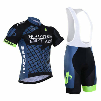 KJ191 2016 Mens Team Cycling Sport Clothing Short Sleeve Jersey Bib Shorts Sets