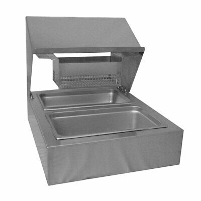 Countertop Bread Batter Station Stainless Steel