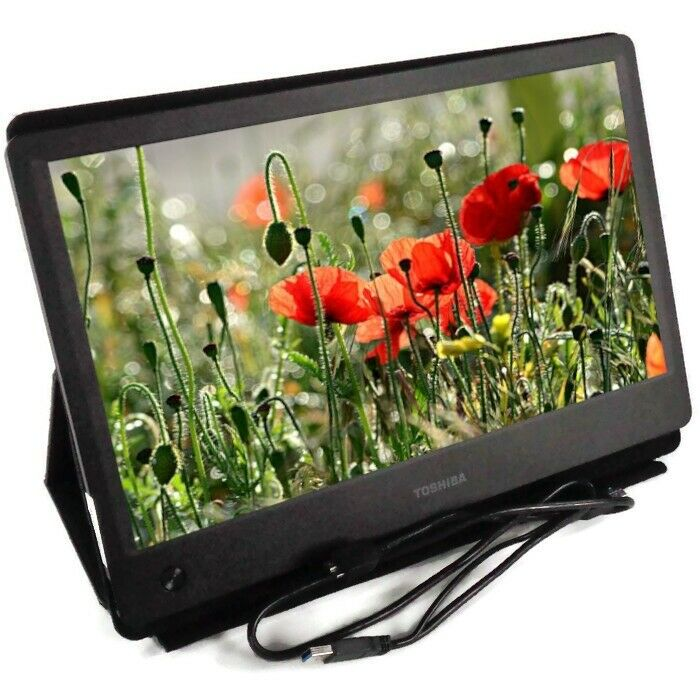 "AOC Glos... 15.6/"" Widescreen Flat-Panel USB 3.0-Powered Portable LED Monitor"