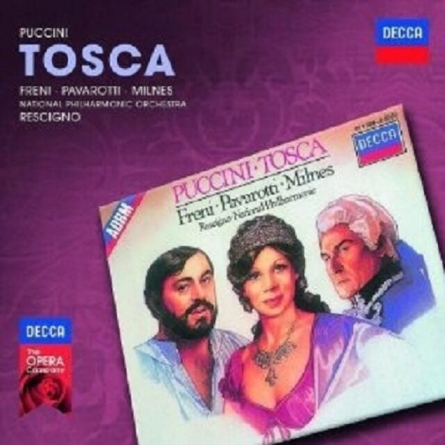 PAVAROTTI/FRENI/MILNES/NAPO/RESCIGNO/+ - TOSCA 2 CD OPER KLASSIK  NEU