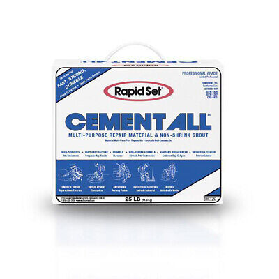 Cts Rapid Set Cement All Multi-purpose Construction Material 25lbs