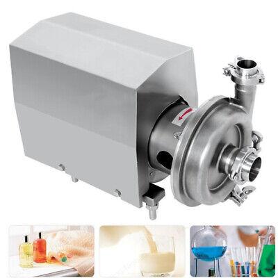 10th Food Grade Centrifugal Pump Sanitary Chemical Lab Beverage Pump 2200w