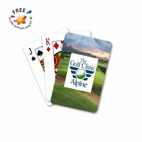 CUSTOM PLAYING CARDS - 50 Decks - Custom Printed with Your Logo