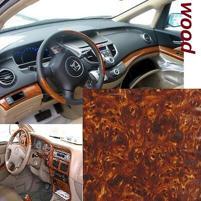 Dipping Hydrographics Film Water Transfer Printing Wood Grain 0.5x2m Glossy