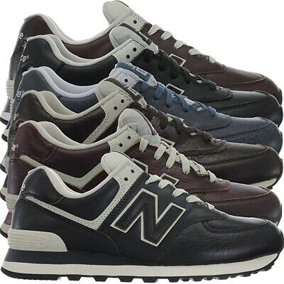 New Balance ML574 Leather Herren Vollleder Fashion Sneakers Schuhe 3 Farben