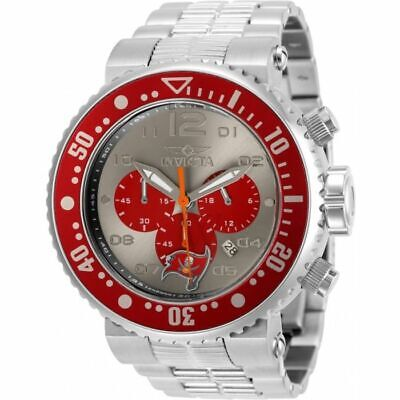 INVICTA 30284 GRAND PRO DIVER  NFL AUTHORIZED TAMPA BAY BUCCANEERS CHRONOGRAPH