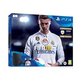 BRAND NEW PlayStation 4 1TB with FIFA 18