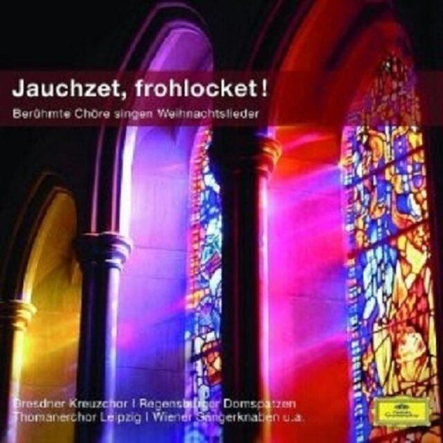 DRESDNER KREUZCHOR/GABRIELI CONSORT/BILLER/RICHTER - JAUCHZET,FROHLOCKET! CD NEU