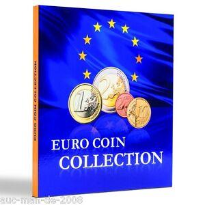 Euro Münzalbum Coin Collection für Euro Länder 26 Kursmünzensätze Sammelalbum