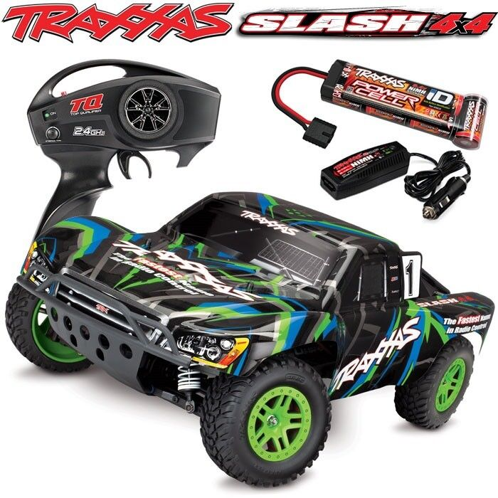 Traxxas RTR 1/10 Slash 4X4 Ultimate VXL 2.4GHz with 7 Cell B