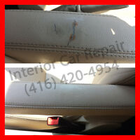 INTERIOR CAR REPAIR AND RESTORATION - Vinyl, Leather