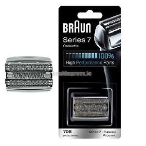 BRAUN Series 7 70S PULSONIC FOIL & CUTTER PACK 9000 Replacement  Cassette