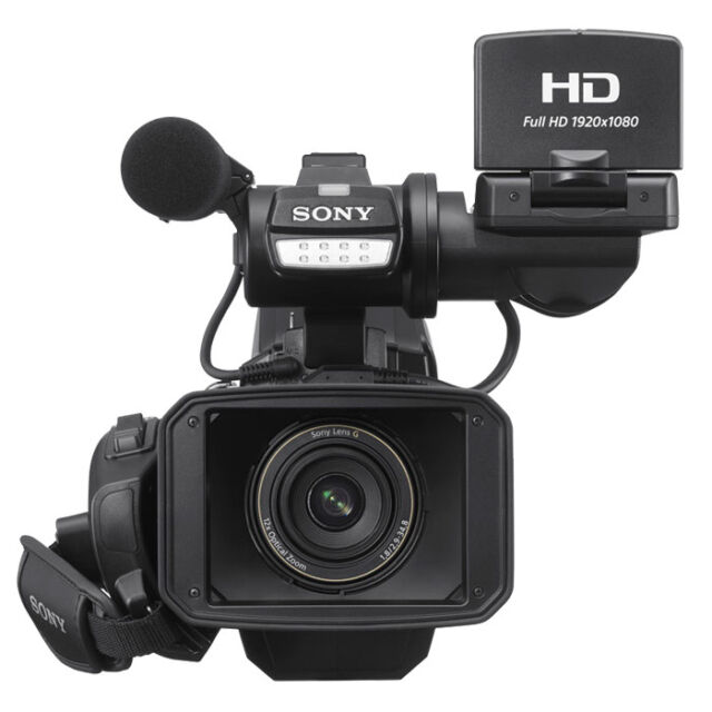 Sony HXR-MC2500E NXCAM AVCHD Camcorder Sony Prime Support Broadcast-Fachhändler