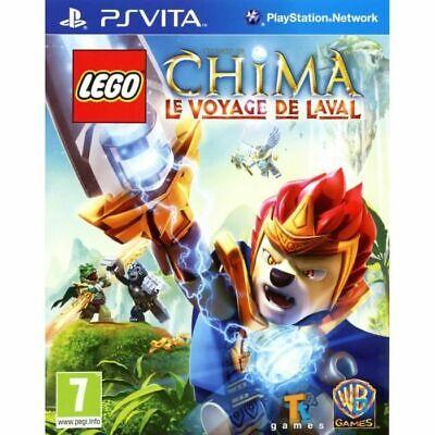 LEGO CHIMA LE VOYAGE DE LAVAL jeu Playstation PS VITA PSVITA PAL...