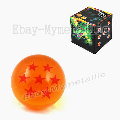 Japanese Anime Dragon Ball 7Cm Pvc Single Ball New In Box L Size Seven Stars