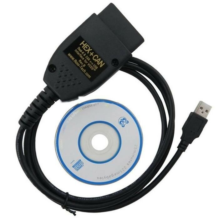 Vag-Com 17.1.3 ✔ HEX+CAN diagnostic cable with soft ✔ English/German language £35 !!!