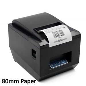 NEW SYMCODE USB POS THERMAL PRINTER WITH AUTO CUTTER (80MM)