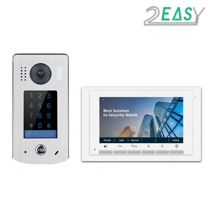 TWO EASY VIDEO INTERCOM WITH KEYPAD FOR GATE AUTOMATION