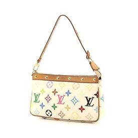 Louis Vuitton Pouchette Accessoires Monogram Leather Purse