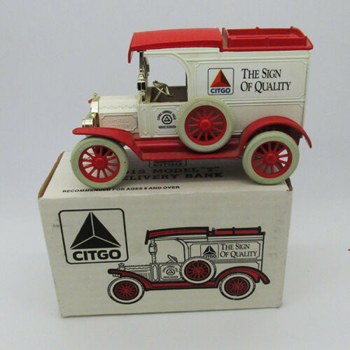 """Ertl limited addition  Citgo 1913 Model """"T"""" Delivery bank by car toy"""