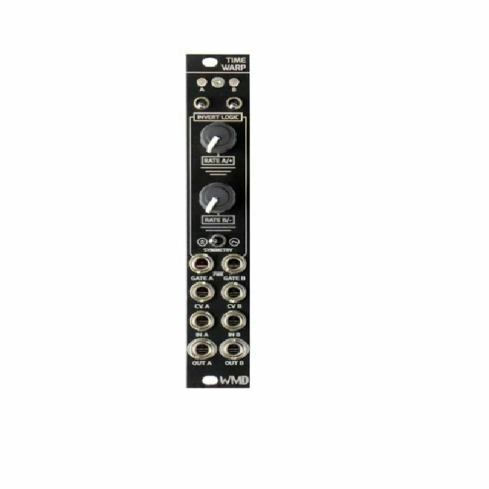 WMD Time Warp Dual Channel Gated Slew Module (black faceplate)