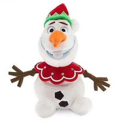 Bean Bag Costume (DISNEY STORE FROZEN MINI BEAN BAG PLUSH HOLIDAY OLAF SNOWMAN 7