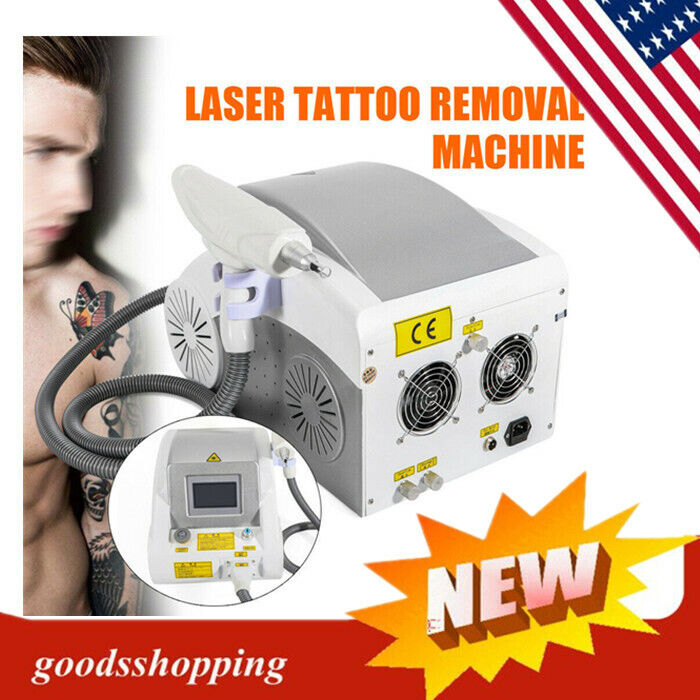 LASER YAG Tattoo Pigment Permanent Removal Eyebrow Cleaning Machine