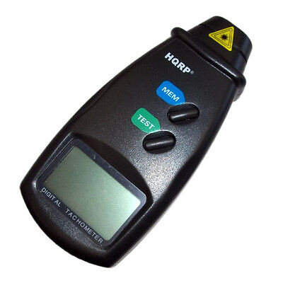 Non Contact Digital Photo Tachometer Large Lcd Display To Control Rotation Speed
