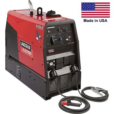 10000 Dc Welder Ac Generator - 225 Amp Dc - 9000 Watt Ac - 23 Hp - 12 Gallons