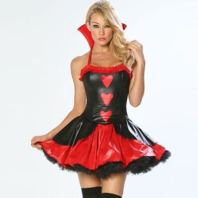 3 Wishes: Queen Of Hearts Sexy Adult Costume (S/M) (3 Wishes Costumes)