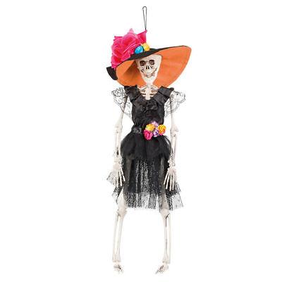 Halloween-dekoration Skelette (NEU Deko-Skelett, hängend, 40 cm Halloween Dekoration   )