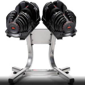 Looking for Bowflex 1090 dumbbells with stand
