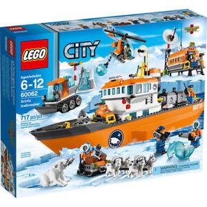 ** new sealed lego set 60062 Arctic Icebreaker with polar bear