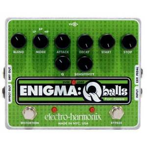 Electro Harmonix Enigma Qballs Envelope Filter Bass Effects Pedal